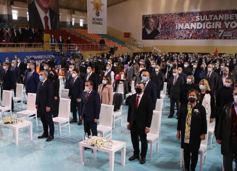 Başkan Keskin, Ak Parti 7. Olağan İlçe Kongresi'ne Katıldı