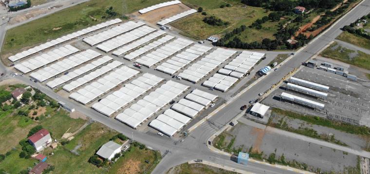 Sultanbeyli'de Kurban Satış ve Kesim Merkezi Hazırlıkları Tamamlandı